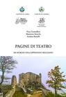 copertina PAGINE DI TEATRO