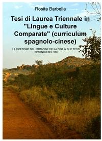 """Tesi di Laurea Triennale in """"LIngue e Culture Comparate"""" (curriculum spagnolo-cinese)"""