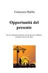 copertina di Opportunità del presente