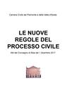 copertina LE NUOVE REGOLE DEL PROCESSO...