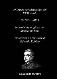 19 Danze per Mandolino del XVII secolo