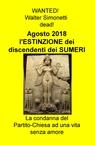 copertina Agosto 2018 l'ESTINZIONE d...