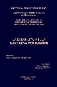 La disabilità nella narrativa per bambini