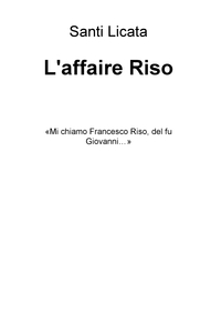 L'affaire Riso
