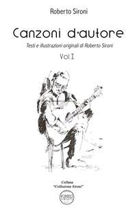 Canzoni d'autore – Vol I