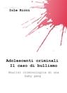 Adolescenti criminali. Il caso di bullismo.