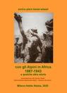copertina con gli Alpini in Africa