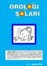 copertina Orologi Solari n. 17