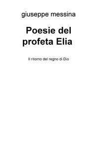 Poesie del profeta Elia