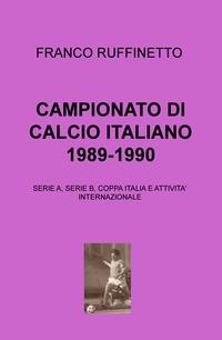 CAMPIONATO DI CALCIO ITALIANO 1989-1990