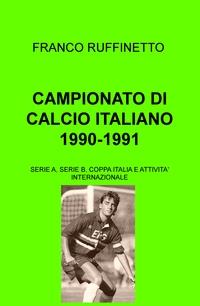 CAMPIONATO DI CALCIO ITALIANO 1990-1991