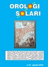 copertina Orologi Solari n. 19