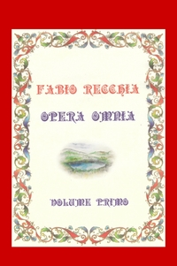 OPERA OMNIA – VOLUME PRIMO