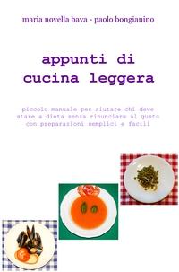 appunti di cucina leggera