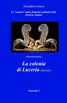 copertina La colonia di Luceria (314...