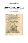 copertina DIALOGO CRIMINALE