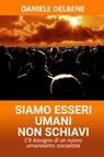 copertina SIAMO ESSERI UMANI NON SCHIAVI