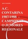 copertina A.C. CONTARINA 1987/1988 – C...