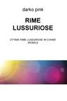 RIME LUSSURIOSE