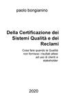Della Certificazione dei Sistemi Qualità e dei ...