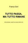 copertina TUTTO PASSA, MA TUTTO RIMANE