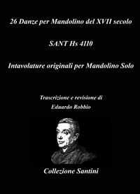 26 Danze per Mandolino del XVII secolo