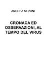 copertina CRONACA ED OSSERVAZIONI, AL...