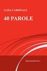 copertina 40 PAROLE