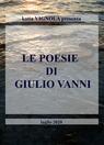 copertina LE POESIE DI GIULIO VANNI