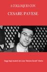 copertina A COLLOQUIO CON CESARE PAVESE