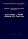 copertina IL JOBS ACT E LA NUOVA DISCIPLINA...