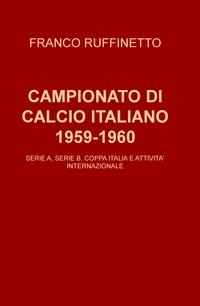 CAMPIONATO DI CALCIO ITALIANO 1959-1960