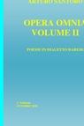 copertina OPERA OMNIA VOLUME II