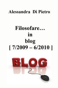 Filosofare… in blog [ 7/2009 – 6/2010 ]