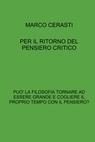 copertina di PER IL RITORNO DEL PENSIERO...