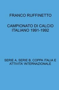CAMPIONATO DI CALCIO ITALIANO 1991-1992