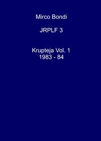 Krupteja Vol. 1 1983 – 84
