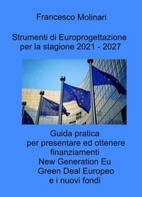 Strumenti di Europrogettazione per il 2021 – 2027