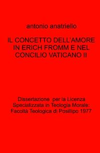 IL CONCETTO DELL'AMORE IN ERICH FROMM E NEL CONCILIO VATICANO II