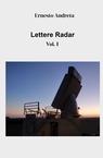 copertina Lettere Radar Vol. I