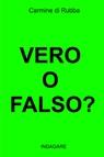 copertina VERO O FALSO?