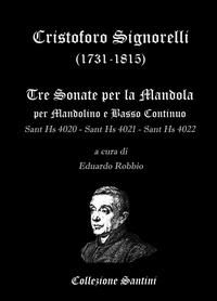 Cristoforo Signorelli – Sonate per Mandolino e Basso Continuo