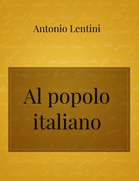 Al popolo italiano