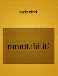 Immutabilità