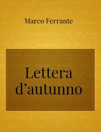Lettera d'autunno