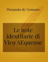 Le note identitarie di Vico Æquense