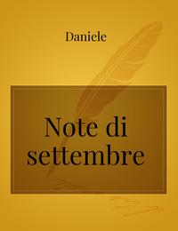 Note di settembre
