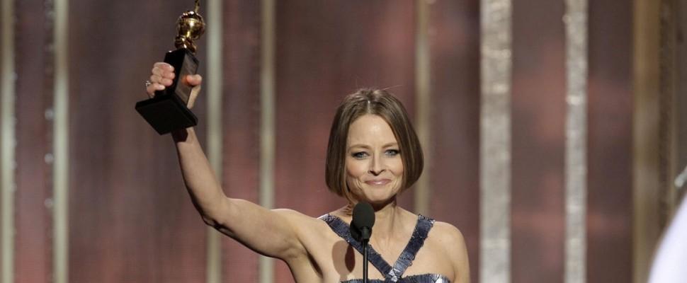 Jodie Foster, il coming out commuove e oscura i Golden Globe