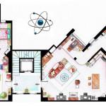 Planimetrie famose, case e appartamenti seriali