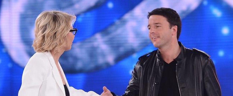 Amici, Renzi: Coltivate il talento e non perdete la faccia